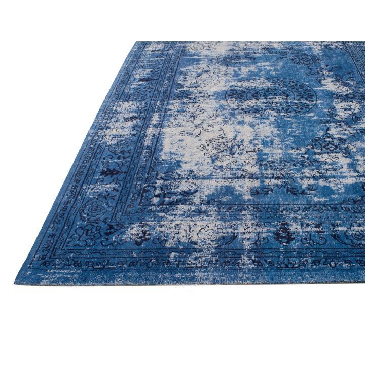 Carpet_rug_Vintage_ Knots JO_ denim blue_ 200x300
