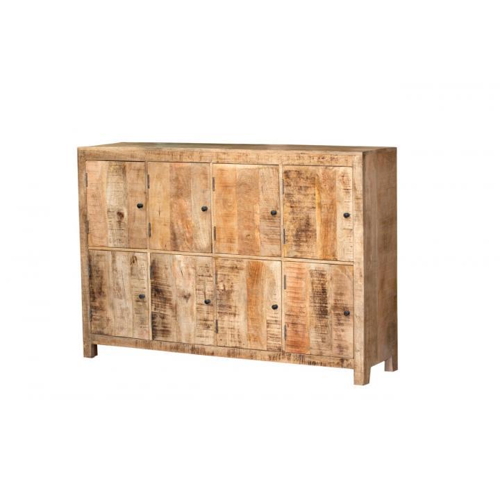 Mango wood kast 8 deurs