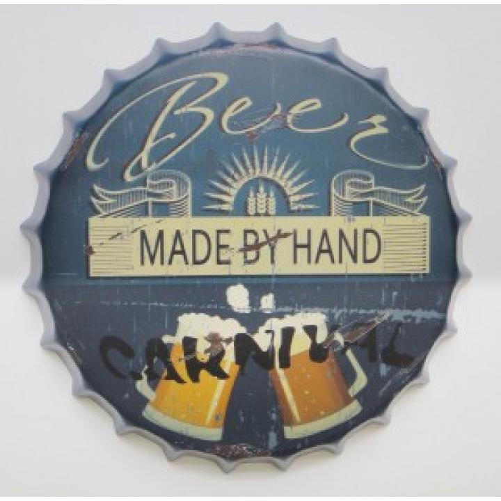 beercap, kroonkurk, made by hand