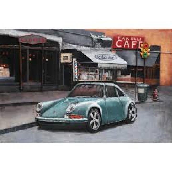 3d metaal schilderij Porsche 911 mooi stoer voor aan de muur kopen in Middelburg bij Indistrieel winkel in Middelburg logo.jpg