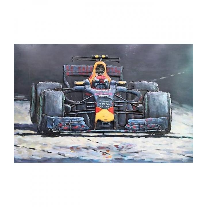 3d metaal schilderij red bull racing verstappen kampioen  stoer voor aan de muur kopen in Middelburg bij Indistrieel winkel in Middelburg.jpg