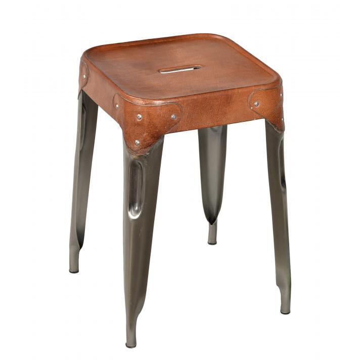 iron_leather_stool