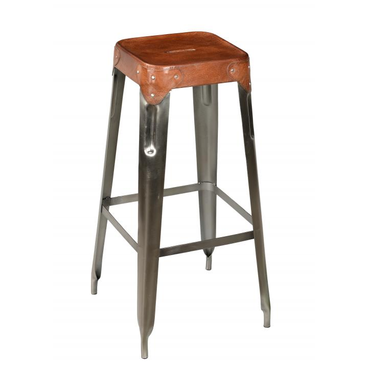 Bar_ stool _iron_ leather_.1jpg