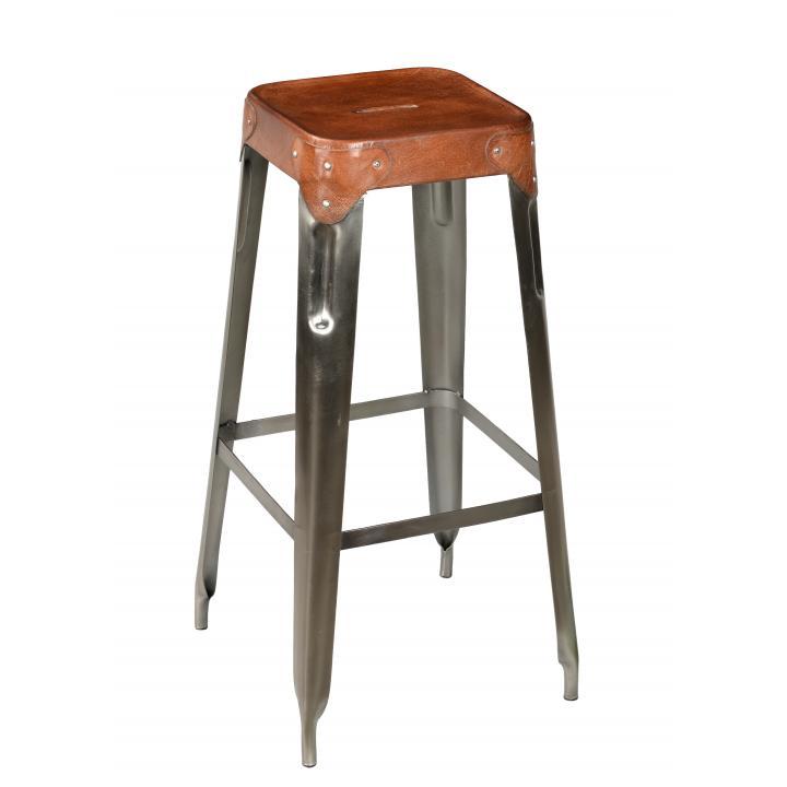 Bar_ stool _iron_ leather_.1jpg