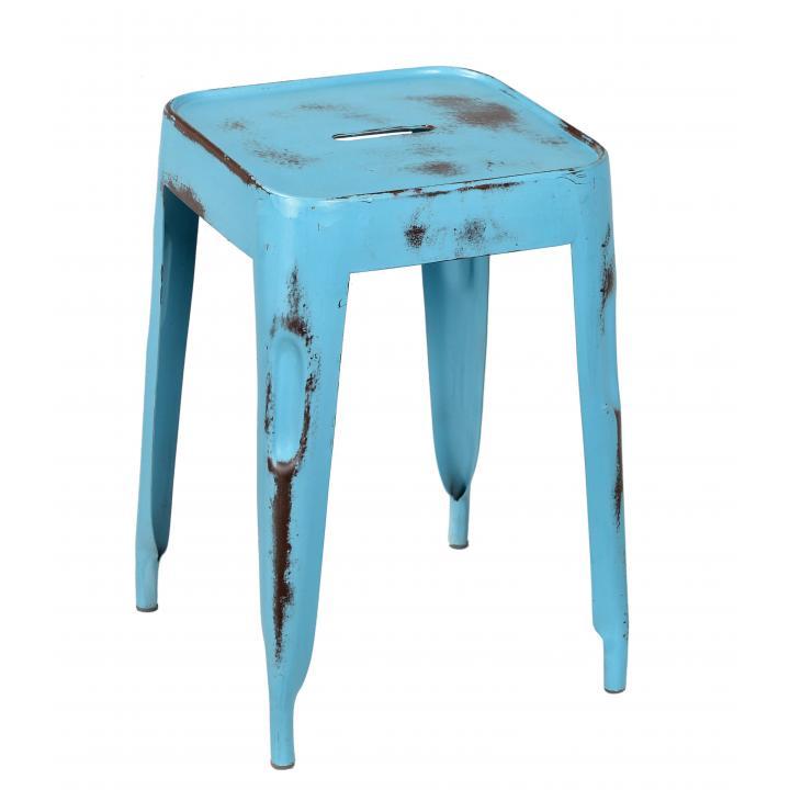 Kruk metaal blauw