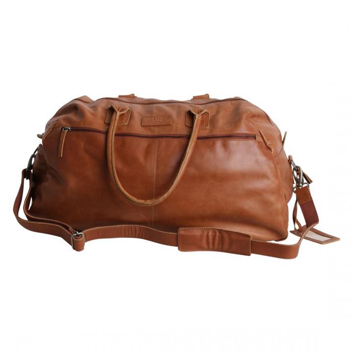 Leather junky weekend reistas the money Laundry bag te koop bij Indistrieel