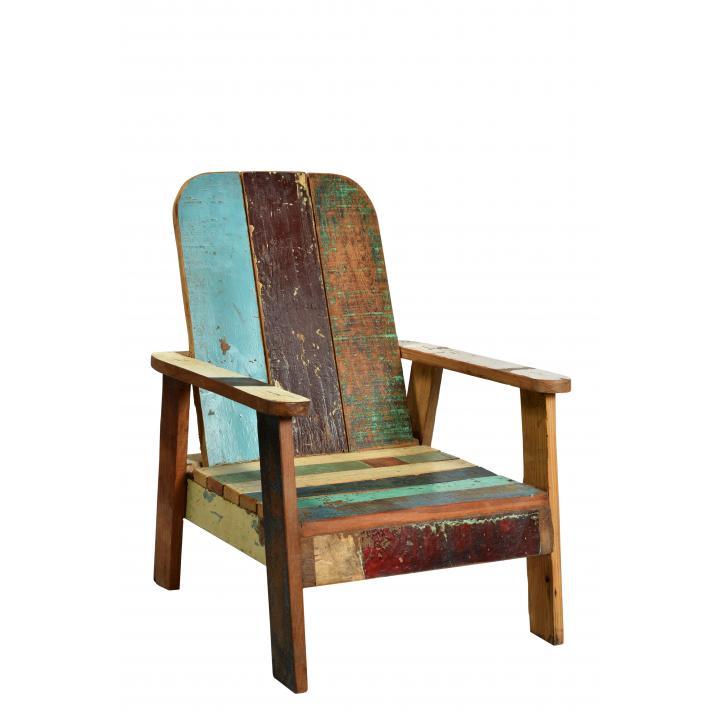 Kinderstoel lounge scrapwood
