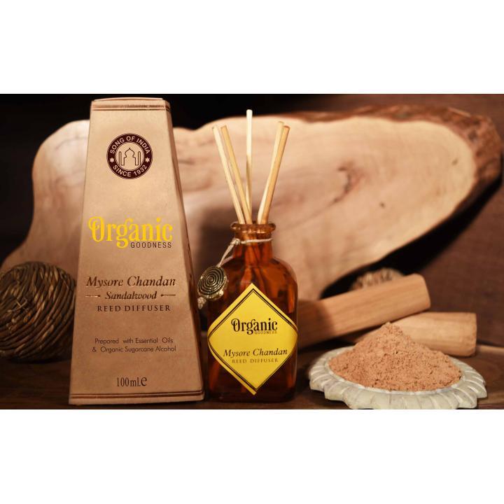 Geurstokjes Sandelwood met natuurlijke subtiele geuren