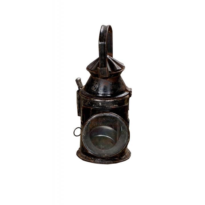 Indian railway lamp collectors item Indistrieel