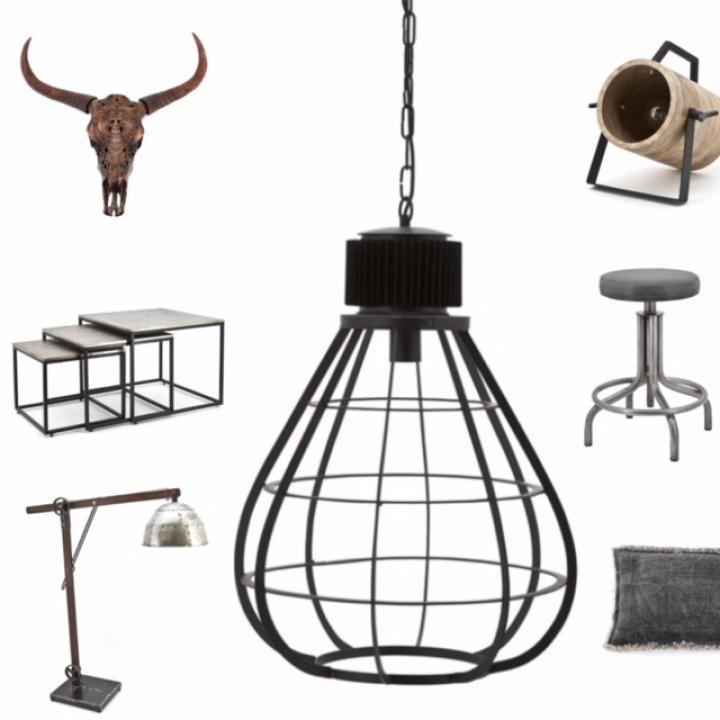 Indistrieel, Byboo, lampen, kussens, tafels, stoelen.jpg
