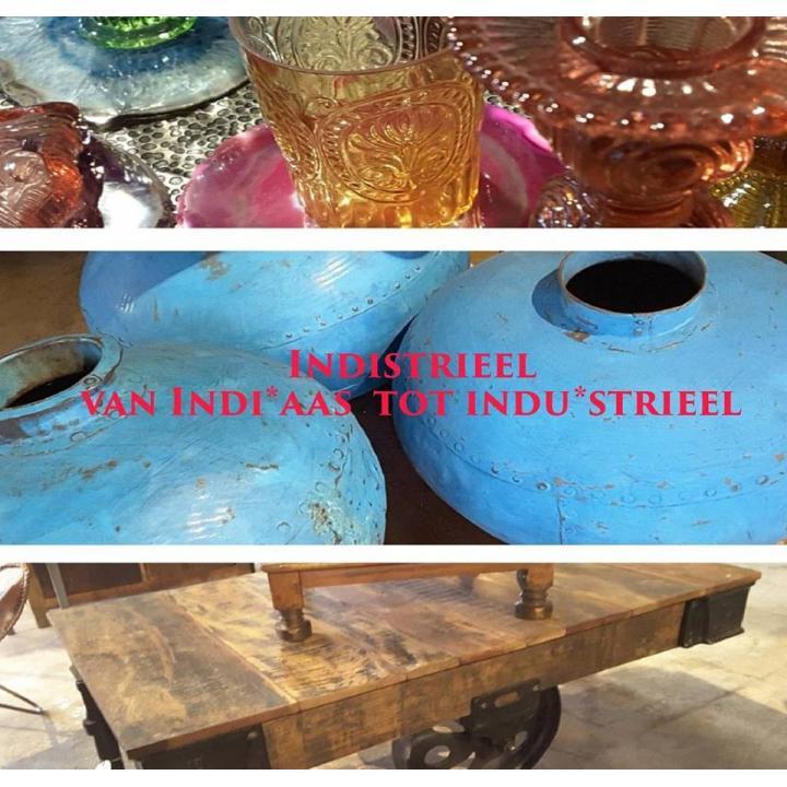 Indistrieel van Indiaas tot industrieel