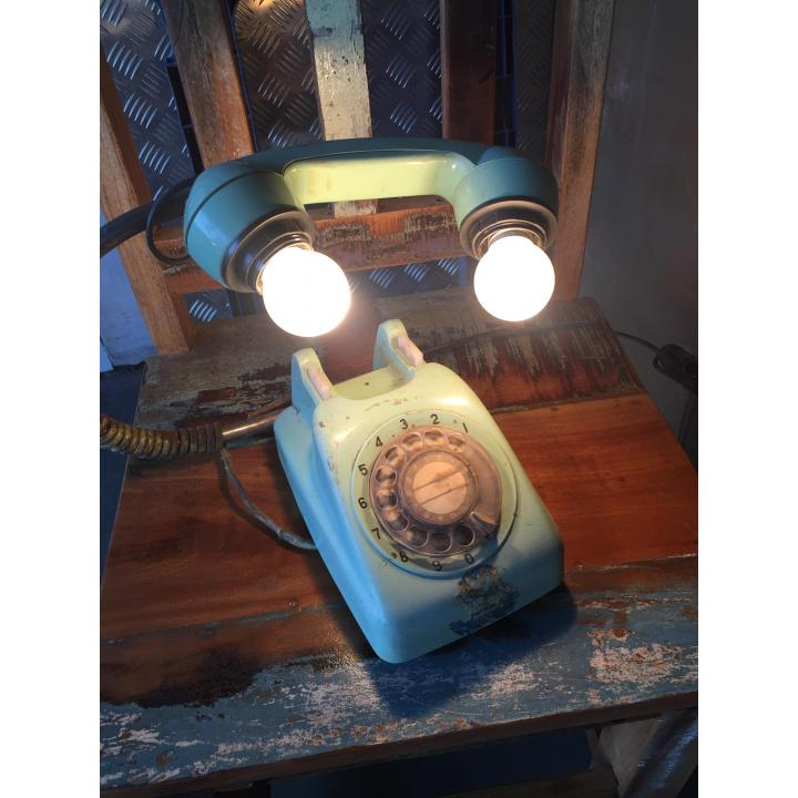 Make a light call phone lamp Indistrieel