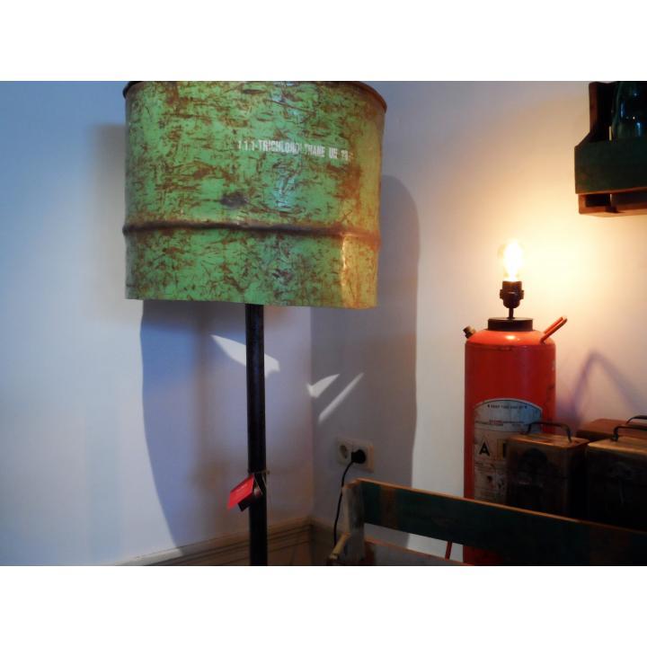 lamp oil barrel