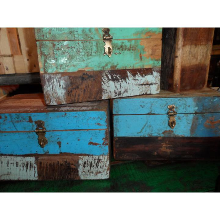 boxes scrapwood colorfull