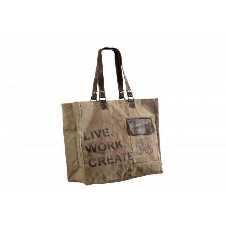 Bag XL Label Indistrieel € 36,--