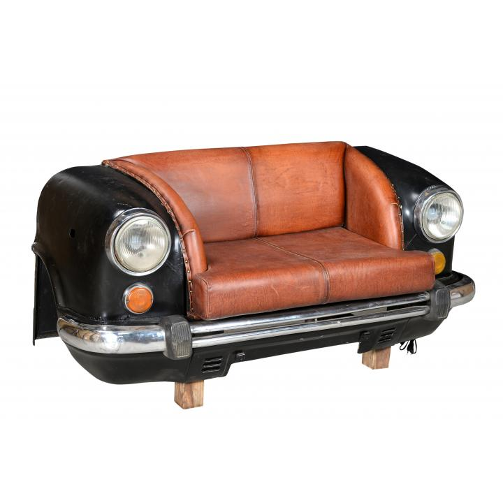 Car-bench- couch- with lights
