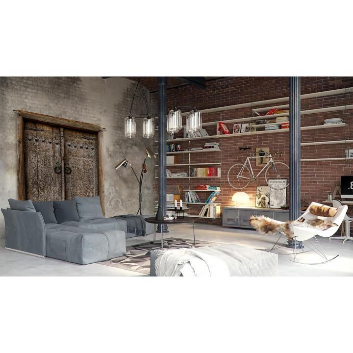 Wandkleed_Old doors_Indistrieel_Urban cotton.jpg