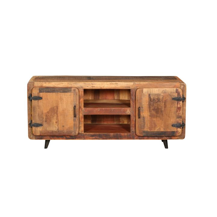 Tv cabinet dressoir recycled wood