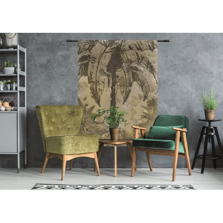 Wandkleed_urban jungle_ Urbancotton_indistrieel