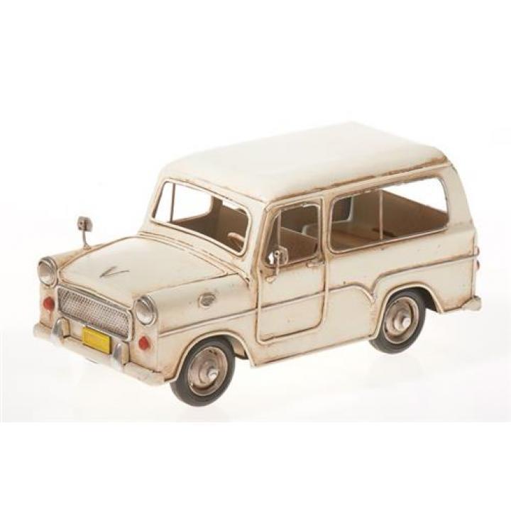 car white auto wit oldtimer