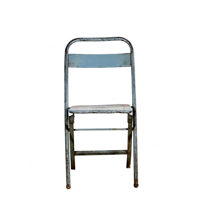 folding chair blue Indistrieel
