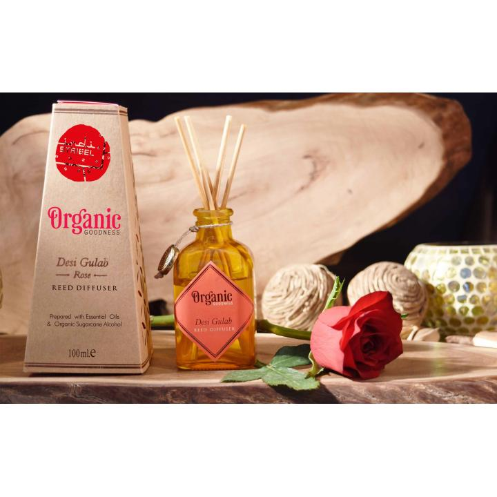 geurstokjes organic roos natuurlijk ingrediënten