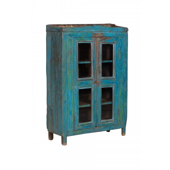 original blue cabinet 4 windows 2 doors India