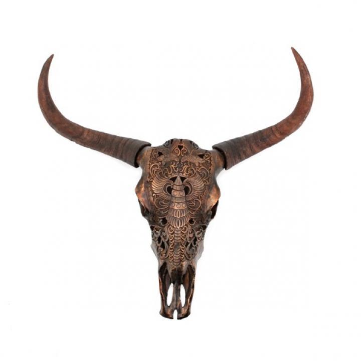 By-Boo ox head chuck bronze