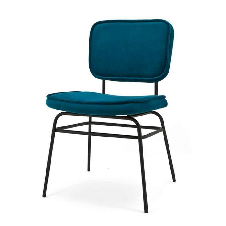 stoel_ Vice_ Byboo_ ocean blue_Indistrieel_middelburg