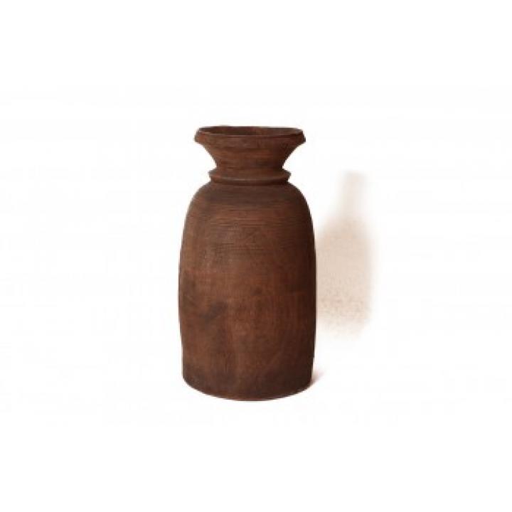 Houten Nepalese potten small tot extra extra large XXXL  te koop bij Indistrieel in Middelburg.jpg