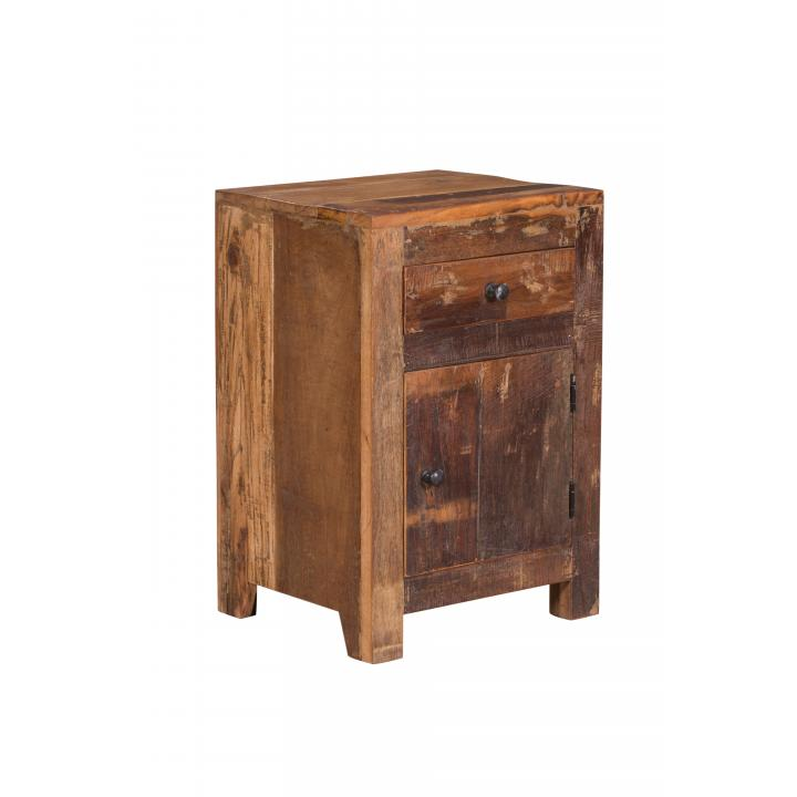 Wooden cabinet reclaimed wood small